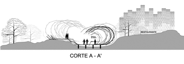 CORTE A-A'