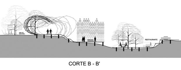 CORTE B-B'