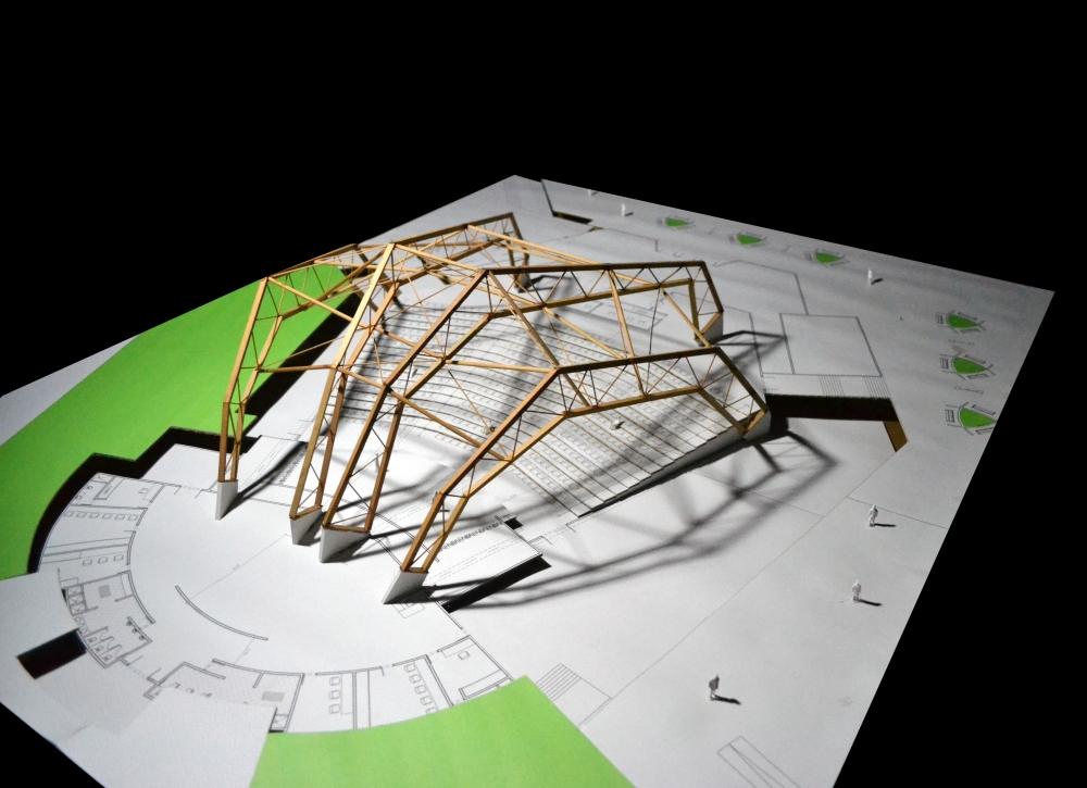 Diseño de Estructura para un Auditorio (5/6)