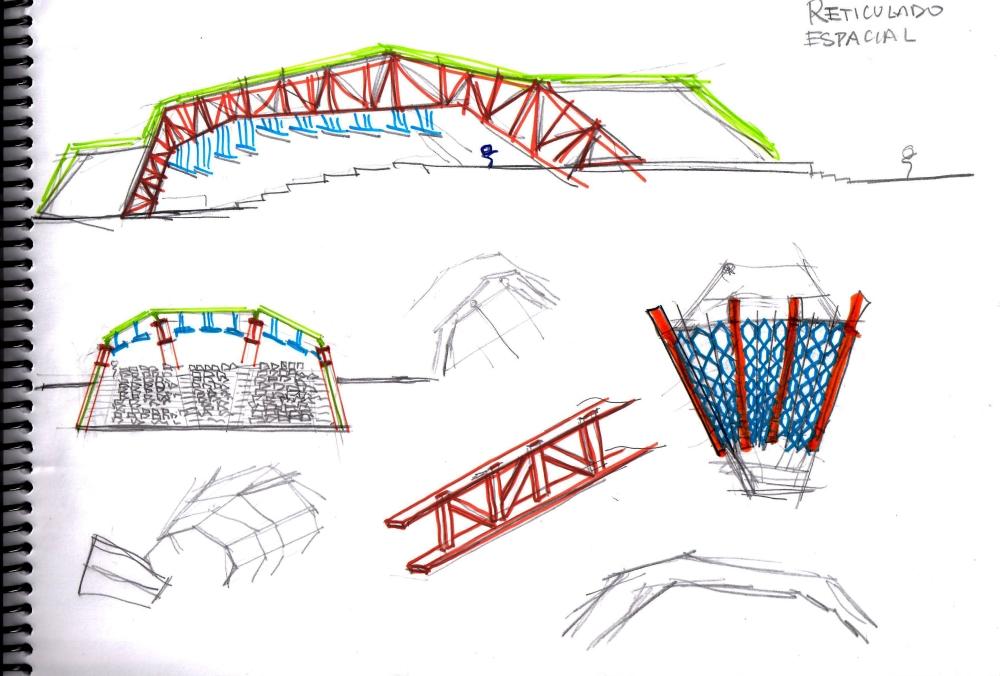 Diseño de Estructura para un Auditorio (1/6)
