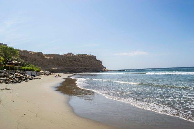 Imagen: Playa Punta Veleros.