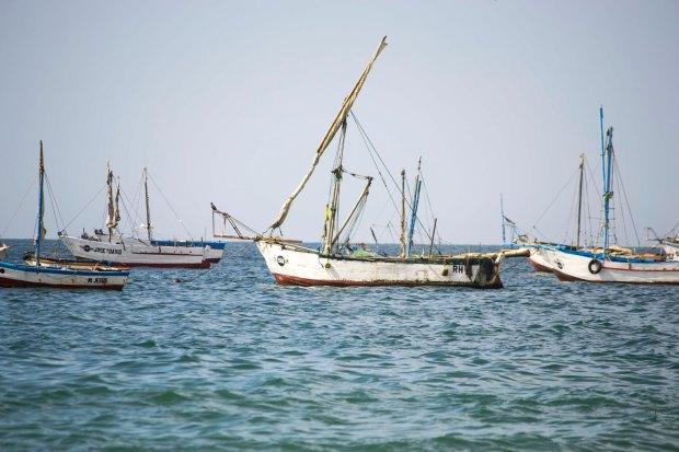 Foto: Barcos pesqueros.