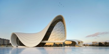 Figura 06: Heydar Aliyev Center (Azerbaijan).