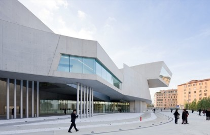 Figura 03: National Museum of the 21st Century Arts - MAXXI (Italia).
